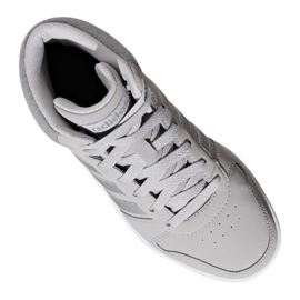 Buty adidas Hoops Mid 2.0 K Jr F35796 szare 4