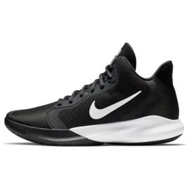 Buty do koszykówki Nike Precision Iii M AQ7495 002 czarne 1