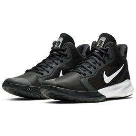 Buty do koszykówki Nike Precision Iii M AQ7495 002 czarne 2