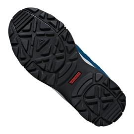Buty adidas Hyperhiker K Jr G27790 niebieskie 1