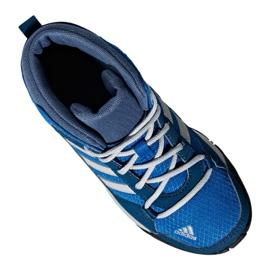 Buty adidas Hyperhiker K Jr G27790 niebieskie 2