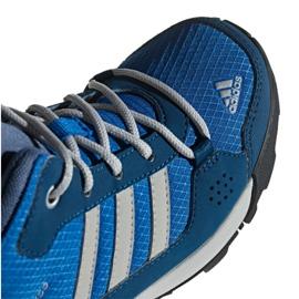 Buty adidas Hyperhiker K Jr G27790 niebieskie 4