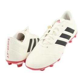 Buty piłkarskie adidas Nemeziz 18.4 FxG M D97992 beżowy 3
