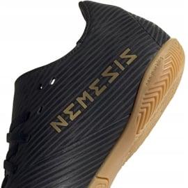 Buty piłkarskie adidas Nemeziz 19.4 In Jr EG3314 czarny czarne 4