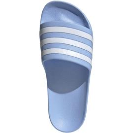 Klapki adidas Adilette Aqua W EE7346 niebieskie 1