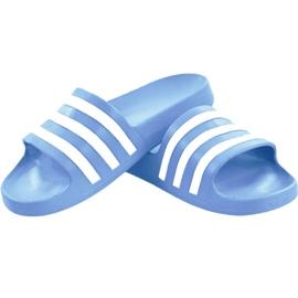 Klapki adidas Adilette Aqua W EE7346 niebieskie 2