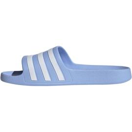 Klapki adidas Adilette Aqua W EE7346 niebieskie 3