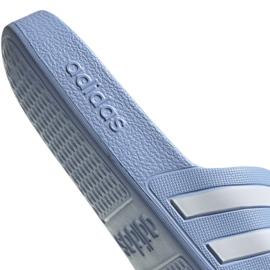Klapki adidas Adilette Aqua W EE7346 niebieskie 5