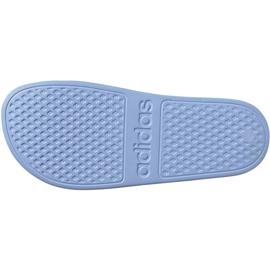 Klapki adidas Adilette Aqua W EE7346 niebieskie 7
