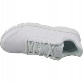Buty biegowe Under Armour Gs Assert 8 Jr 3022697-100 białe białe 2