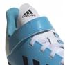 Buty adidas X 19.4 H&L Tf Jr EF9126 niebieskie zdjęcie 3