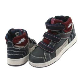 Wysokie buty sportowe American Club ES granatowe 2