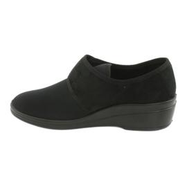 Befado obuwie damskie pu 033D002 czarne 2