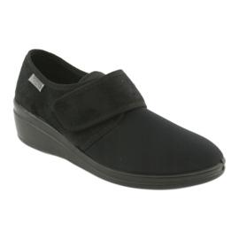 Befado obuwie damskie pu 033D002 czarne 1