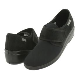 Befado obuwie damskie pu 033D002 czarne 3