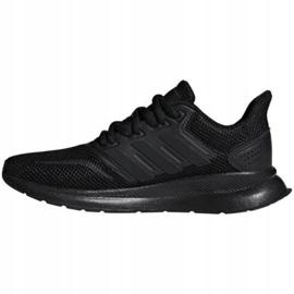 Buty adidas Runfalcon Jr F36549 czarne 1