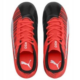 Buty Puma One 5.4 Fg Ag M 105660 01 czerwony czerwone czerwone 2