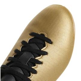 Buty halowe adidas X Tango 17.4 In Jr CP9052 złoty 2