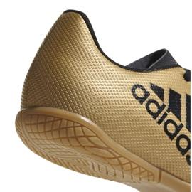 Buty halowe adidas X Tango 17.4 In Jr CP9052 złoty 3
