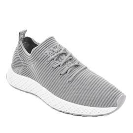 Szare obuwie sportowe GM809-26 1