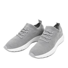 Szare obuwie sportowe GM809-26 2