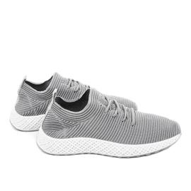 Szare obuwie sportowe GM809-26 3