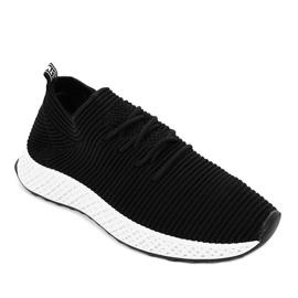 Czarne obuwie sportowe GM809-1 1