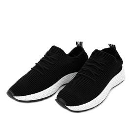 Czarne obuwie sportowe GM809-1 2
