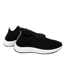 Czarne obuwie sportowe GM809-1 3