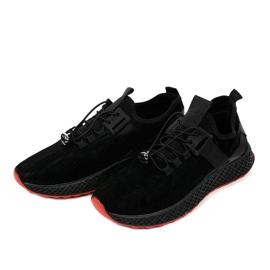 Czarne obuwie sportowe męskie GM807 2