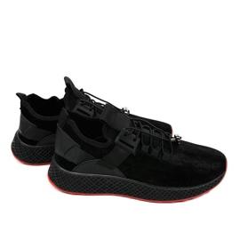 Czarne obuwie sportowe męskie GM807 3