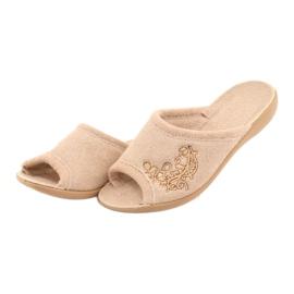 Befado obuwie damskie pu 256D013 beżowy 3