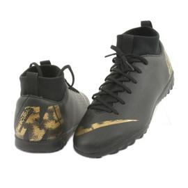 Buty piłkarskie Nike Mercurial SuperflyX 6 Academy Gs Tf Jr AH7344-077 czarne 3