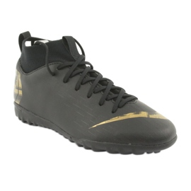 Buty piłkarskie Nike Mercurial SuperflyX 6 Academy Gs Tf Jr AH7344-077 czarne 1