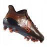 Buty adidas X 17.1 Fg M S82288 czarno czerwone czarne czarny, czerwony 1