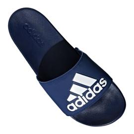 Klapki adidas Adilette Comfort Plus M B44870 niebieskie 4
