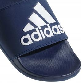 Klapki adidas Adilette Comfort Plus M B44870 niebieskie 9