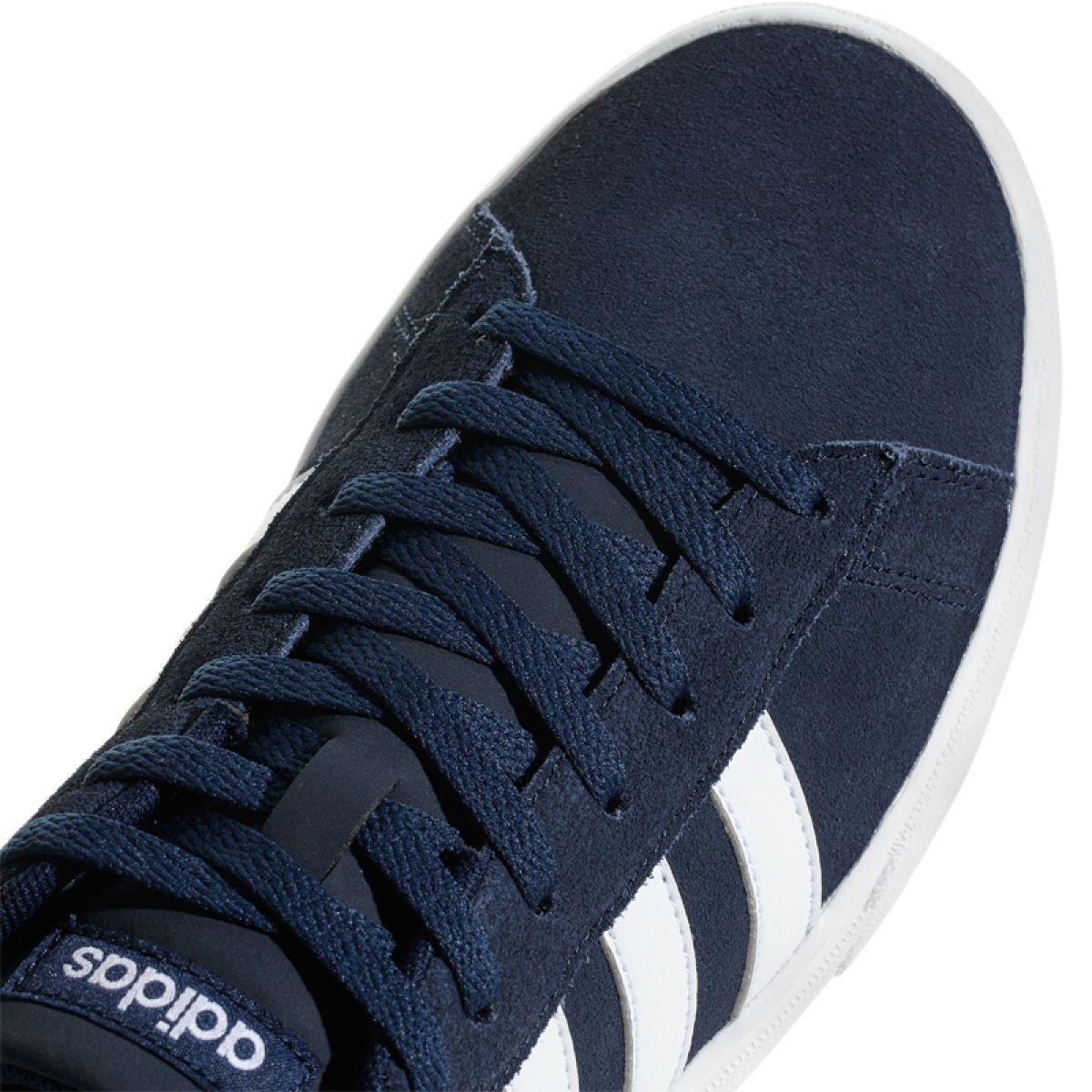 Granatowe Buty adidas Daily 2.0 M DB0271 ButyModne.pl