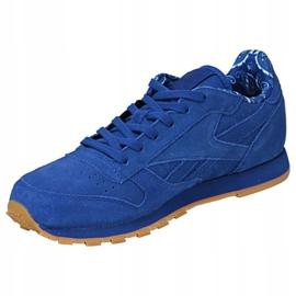 Buty Reebok Classic Leather Tdc Jr BD5052 niebieskie 1