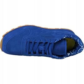 Buty Reebok Classic Leather Tdc Jr BD5052 niebieskie 2