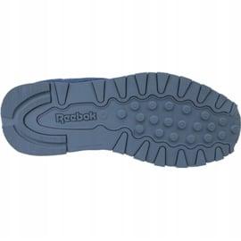Buty Reebok Classic Leather Jr CN4703 niebieskie 3