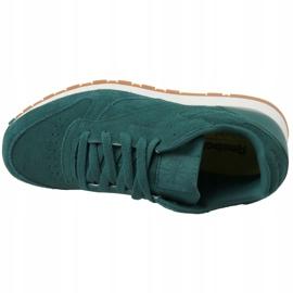 Buty Reebok Cl Leather Sg JRCM9079 zielone 2