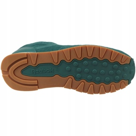 Buty Reebok Cl Leather Sg JRCM9079 zielone 3