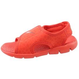 Sandały Nike Sunray Adjust 4 Ps Jr 386518-603 czerwone 1