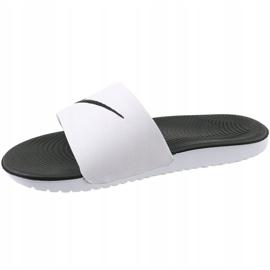 Klapki Nike Kawa Slide Gs/Ps 819352-100 białe 1