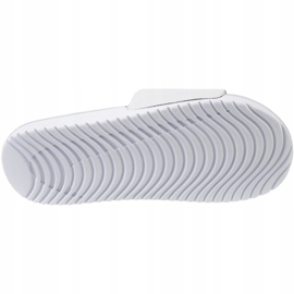 Klapki Nike Kawa Slide Gs/Ps 819352-100 białe 3