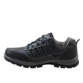 Granatowe obuwie trekkingowe FU25 1