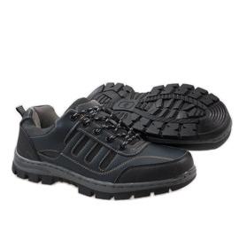 Granatowe obuwie trekkingowe FU25 3