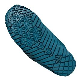 Buty do wody adidas Kurobe K Jr CM7644 zielone niebieskie 3