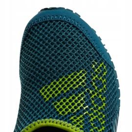 Buty do wody adidas Kurobe K Jr CM7644 zielone niebieskie 6